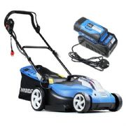 Hyundai HYM60LI380 60V Lithium Ion Cordless Battery Powered Lawn Mower With Battery & Charger